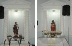Coroação de Maria - Amanda, Tharyssa e Maria Eduarda (8)