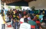 O evento aconteceu na Escola Municipal Francisco Mendes Sampaio