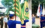 Hasteamento aconteceu na Praça da Independência