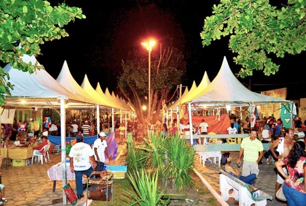 Praça de Alimentação sera montada próximo ao Espaço Folia