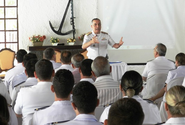 Durante encontro Comandante destacou projetos desenvolvidos na região