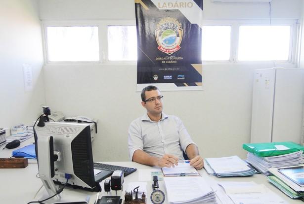 Delegado titular da 1ª Delegacia de Polícia Civil da cidade, Dr. Fernando Araújo da Cruz Jr