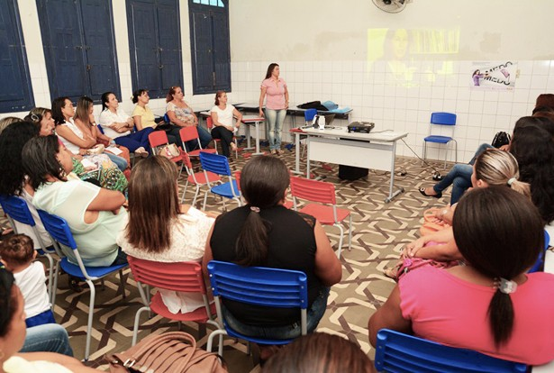 Formação começou pelo Polo 1, na Escola Pedro Paulo (Foto: Renê Marcio Carneiro)