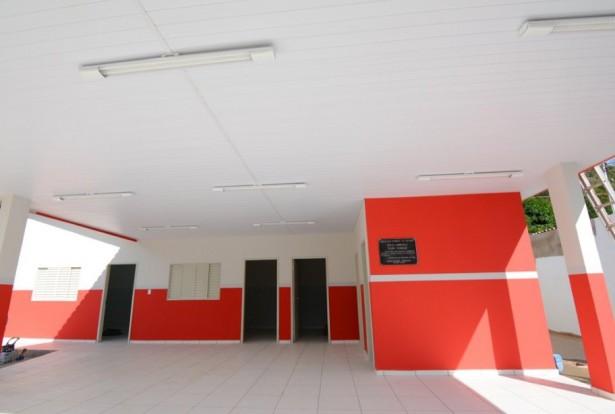 Nova sede do centro comunitário do Cravo, uma das obras que o prefeito entrega neste mês (Foto: Arquivo)